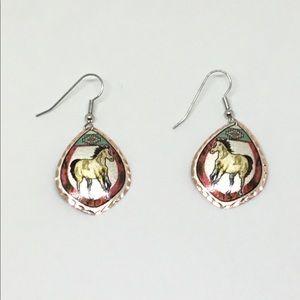 NWT Beautiful Western Style Copper earrings